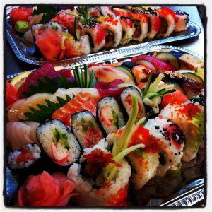 Sushi in Amsterdam
